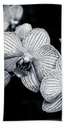 Stream Of Orchids Beach Towel