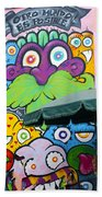 Street Art Lima Peru 2 Beach Towel