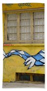 Street Art Valparaiso Chile 12 Beach Sheet