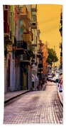 Streets Of San Juan Beach Towel