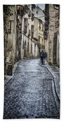 Streets Of Segovia Beach Towel