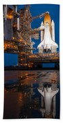 Sts 135 Atlantis Prelaunch Beach Towel