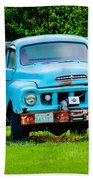 Studebaker Flatbed Truck Beach Sheet