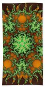 Subatomic Neuron Beach Towel
