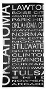 Subway Oklahoma State 1 Beach Sheet