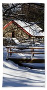 Sudbury - Grist Mill In The Woods Beach Towel