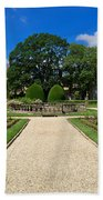 Sudeley Castle Gardens In The Cotswolds Beach Towel
