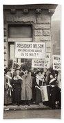 Suffrage Protest, 1916 Beach Sheet