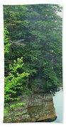 Sugar Creek, Turkey Run State Park Beach Towel