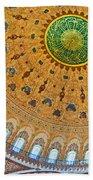 Suleiman Mosque Interior 08 Beach Towel