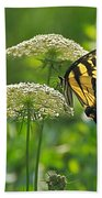Sultry Summer Day Beach Towel