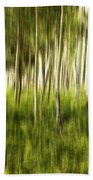 Summer Aspens Beach Towel