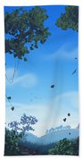 Summer Fields Beach Towel by Cassiopeia Art