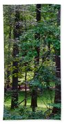 Summer Forest Beach Towel