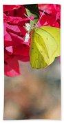 Summer Garden II In Watercolor Beach Towel