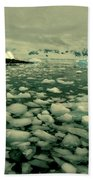 Summer Ice Beach Towel