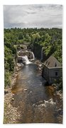 Summer In Asuable Chasm Beach Towel