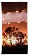 Summer Sunset Beach Sheet