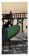 Summer Surfer Beach Towel