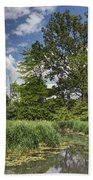 Summer Time At Moraine View State Park Beach Towel