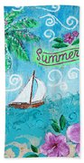 Summertime Beach Towel