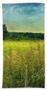 Summertime Beach Towel by Jutta Maria Pusl
