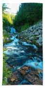 Sun Beam Falls Beach Towel