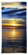 Sun Down South Beach Towel