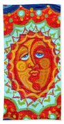 Sun God Beach Towel