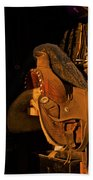 Sun On Leather Horse Saddle In Tack Room Equestrian Fine Art Photography Print Beach Towel