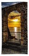 Sun Panorama Beach Towel