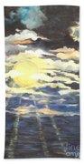 Rays Of Light Beach Towel