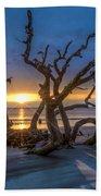 Sun Shadows Beach Towel