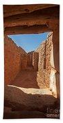 Sun Temple Mesa Verde National Park Beach Towel