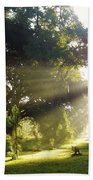 Sunbeam Landscape Beach Towel
