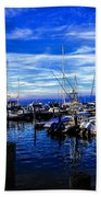 Sundown In Sag Harbor Beach Towel