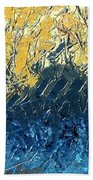 Sundrenched Trees Beach Towel
