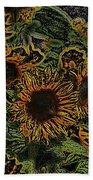 Sunflower 18 Beach Towel