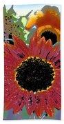 Sunflower 31 Beach Towel