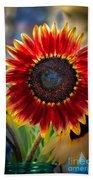 Sunflower Beauty Beach Towel