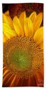 Sunflower Bright Beach Towel