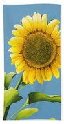 Sunflower Charm Beach Towel