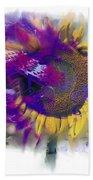 Sunflower Composite Beach Towel