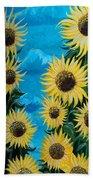 Sunflower Fun Beach Towel