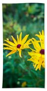 Sunflower Group Session Beach Towel
