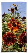 Sunflower Layers Beach Sheet