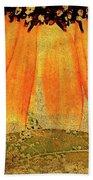 Sunflower Montage Beach Towel