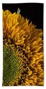 Sunflower Square Beach Sheet