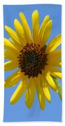 Sunflower Square Beach Towel