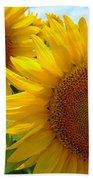 Sunflowers #1 Beach Towel